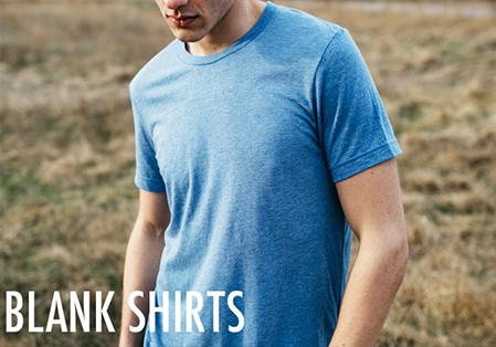 Men's Blank T-Shirts
